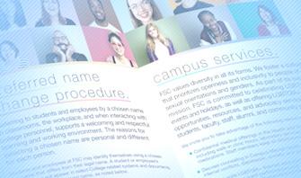 Farmingdale State College – LGBTQIA+ Brochure